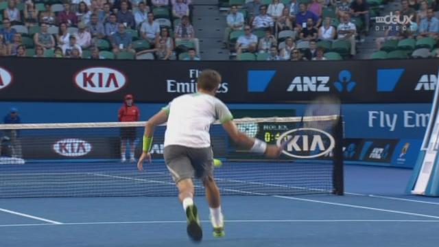 2e tour, Nadal-Smyczek (6-2, 1-0): 30-30 beau point de Smyczek qui se bat comme il peut [RTS]