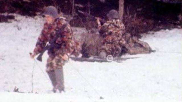 Un cours de répétition dans la neige... A vos ordres!