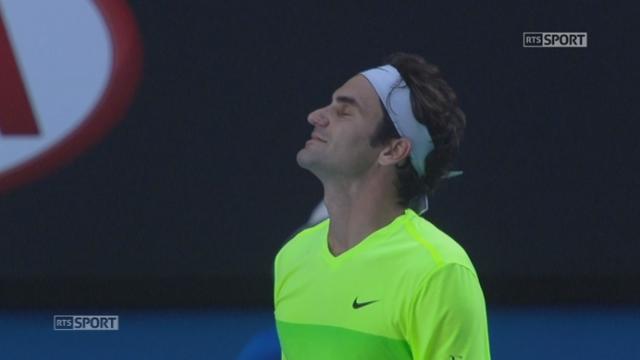3e tour, Federer - Seppi (4-6, 6-7, 6-4, 5-7): énorme déception pour Roger Federer qui s'incline devant un Andreas Seppi au sommet de sa forme [RTS]