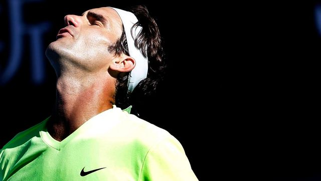 Roger Federer a perdu contre l'Italien Andreas Seppi (ATP 46) [EPA/Barbara Walton - key]