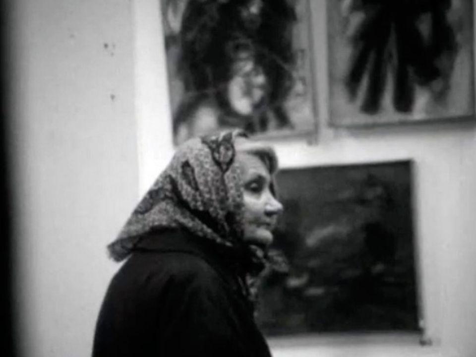 Exposition d'art au Grand Passage à Genève.