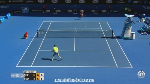 Tennis- Open d'Australie: Roger Federer a perdu à la surprise générale contre l'Italien Seppi en 4 manches [RTS]