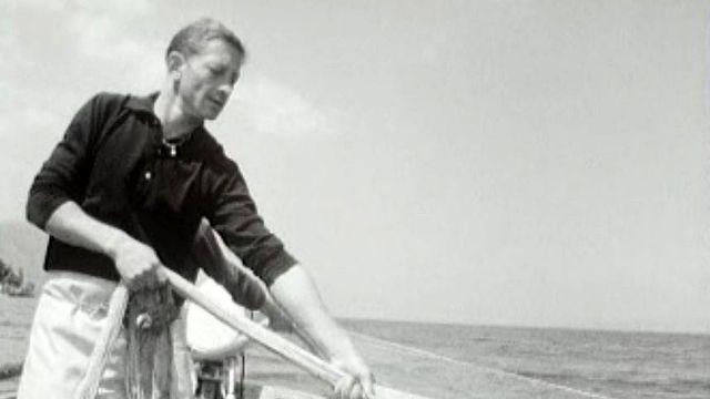 La technique de la pêche à la monte expliquée par un marin du Bouveret.