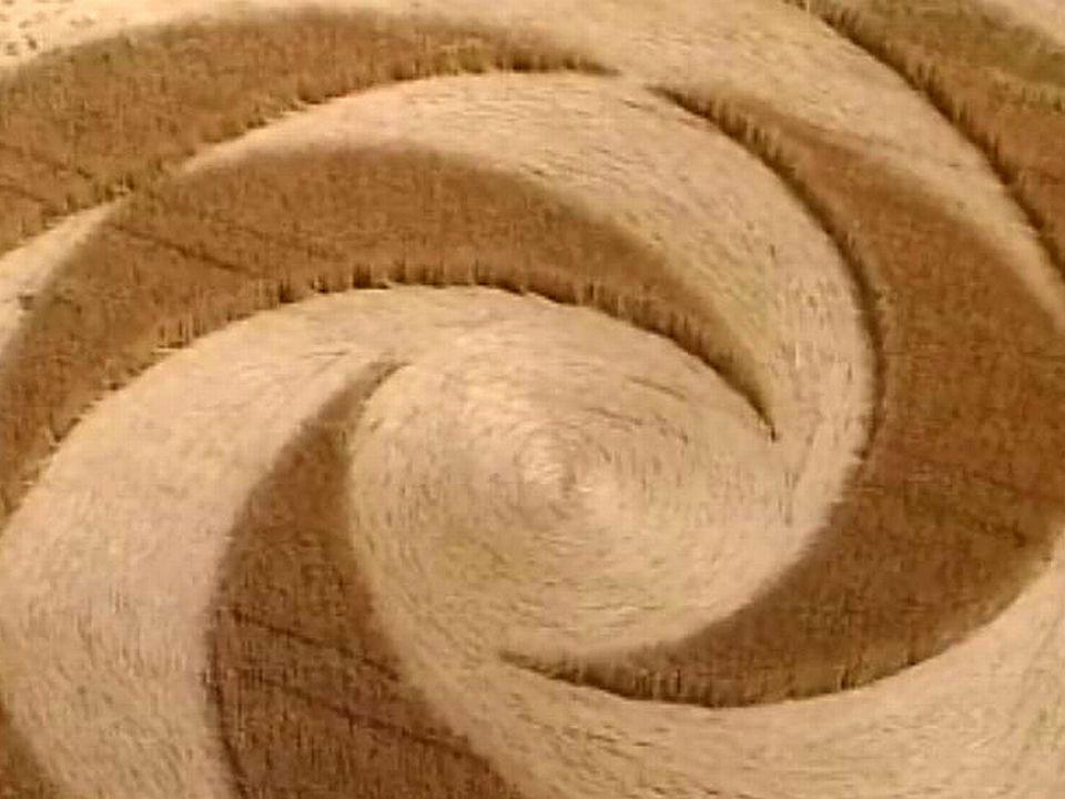 A Payerne, un champ de blé révèle une étrange marque.