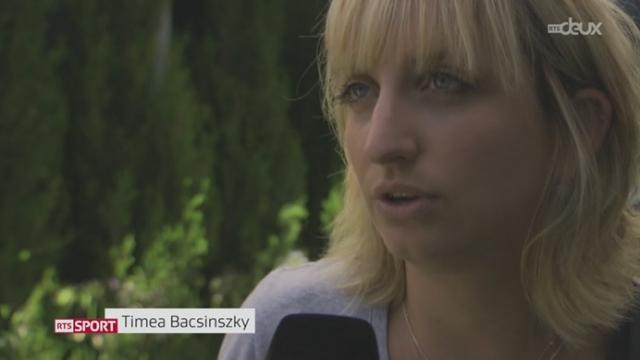 Tennis - Open d'Australie: fin de parcours pour Timea Bacsinszky [RTS]