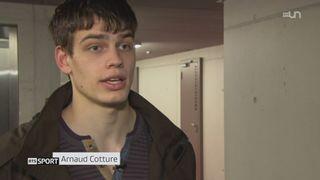 Basketball: à 19 ans, Arnaud Cotture est un des grands espoirs du basketball helvétique [RTS]