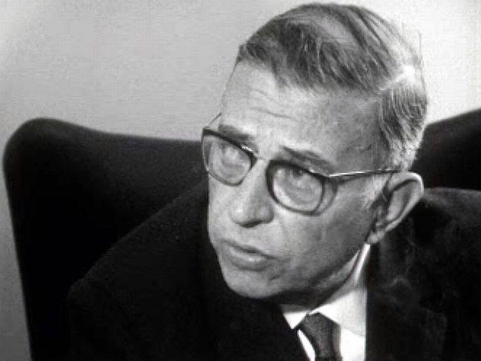 Jean-Paul Sartre rend hommage à Palmiro Togliatti, fondateur du PCI