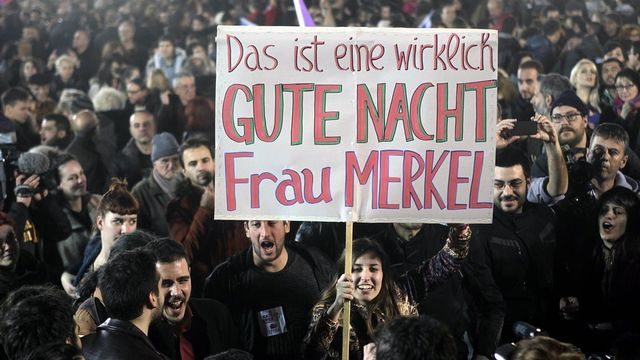Grèce-Allemagne. [Orestis Panagioutou - EPA/Keystone]