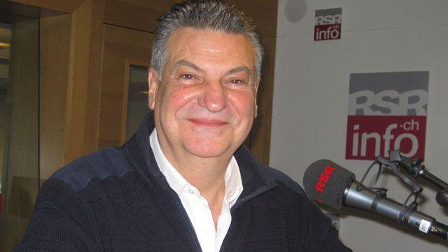 Josef Zisyadis, initiateur du projet Patoinos [Caroline Dumoulin - RTS]