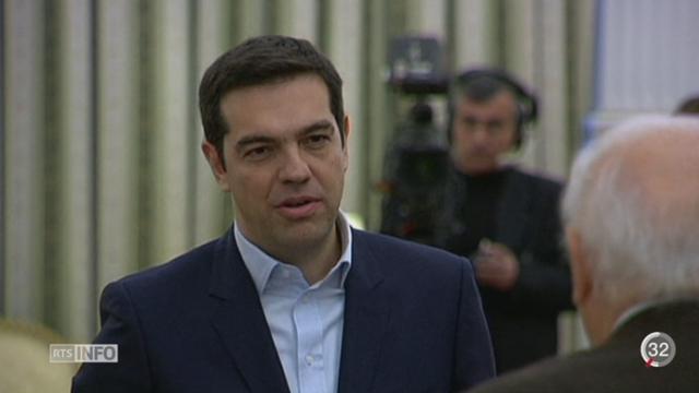 Elections en Grèce: toute l'Europe réagit au succès d'Alexis Tsipra [RTS]