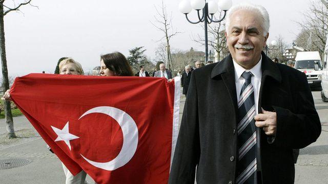 """Pour la Cour européenne, Dogu Perinçek n'a pas commis d'abus de droit en qualifiant de """"mensonge international"""" l'idée d'un génocide arménien. [Salvatore Di Nolfi - Keystone]"""
