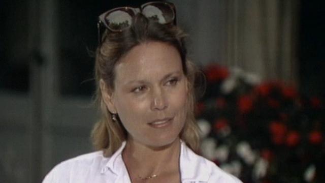 L'actrice Marthe Keller interviewée par Christian Defaye en 1982. [RTS]