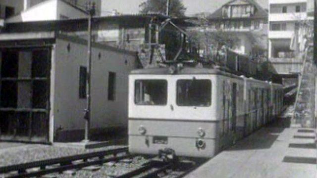 Lausanne modernise son métro avant l'exposition nationale.