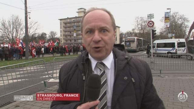 Procès Perincek - Liberté d'expression: les précisions d'Alain Rebetez [RTS]