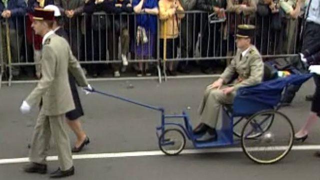 Les blessés de guerre font  chaque année un pèlerinage.