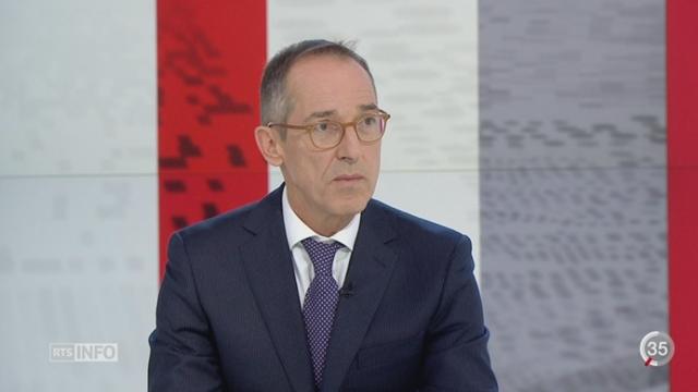 Euro faible - Franc fort: le point avec François Savary, Directeur Dpt analyse financière, REYL (1-2) [RTS]