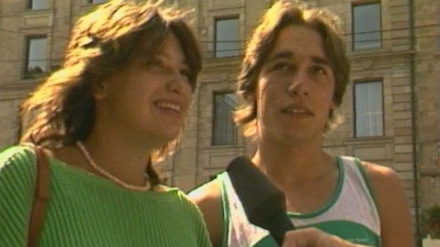 Plutôt Dallas ou Dynastie? Micro-trottoir en 1983. [RTS]