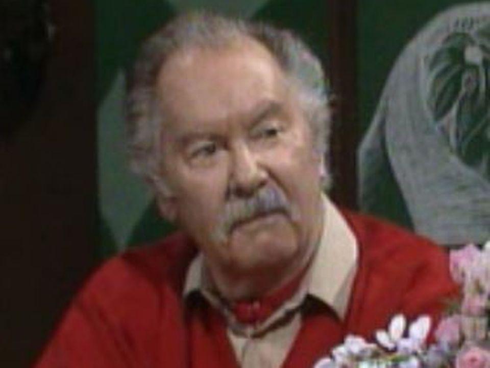 Raymond Barrat en 1991. [RTS]