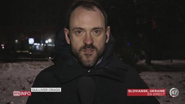Ukraine: le point avec Gulliver Cragg à Sloviansk [RTS]