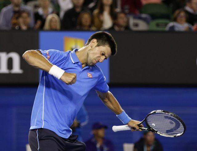 Novak Djokovic, un infatigable combattant [Barbara Walton - Keystone]