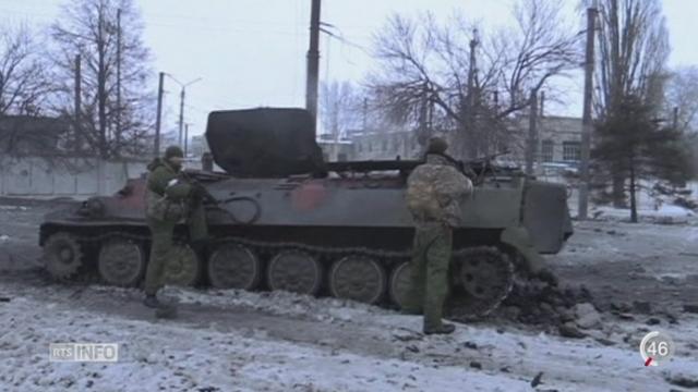 Ukraine: les combats s'intensifient dans l'est de l'Ukraine dans la région de Donetsk [RTS]