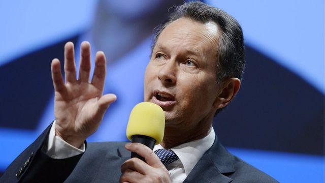 Philipp Müller, président du PLR. [Walter Bieri - Keystone]