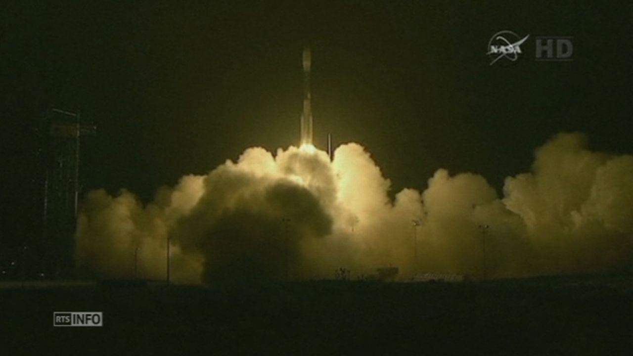 Le premier satellite de mesure de l'humidité des sols lancé [RTS]