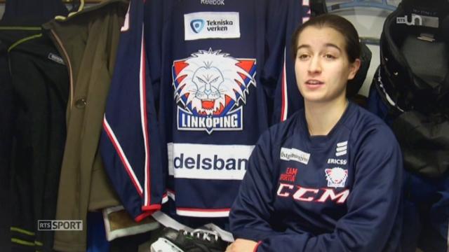 Hockey: Sarah Forster s'engage avec Linköping en Suède [RTS]