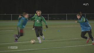 Football: le FC Yverdon féminin veut profiter de la Coupe du Monde [RTS]