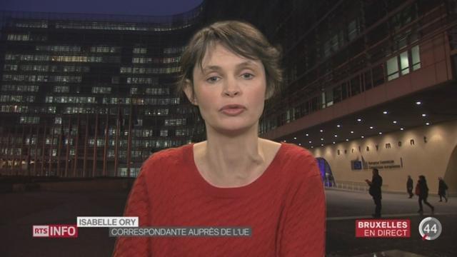 Visite de Simonetta Sommaruga à Bruxelles: le point avec Isabelle Ory [RTS]