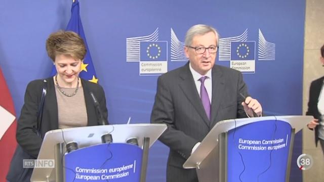 Vote du 9 février: les discussions se poursuivent entre la Suisse et l'Europe [RTS]