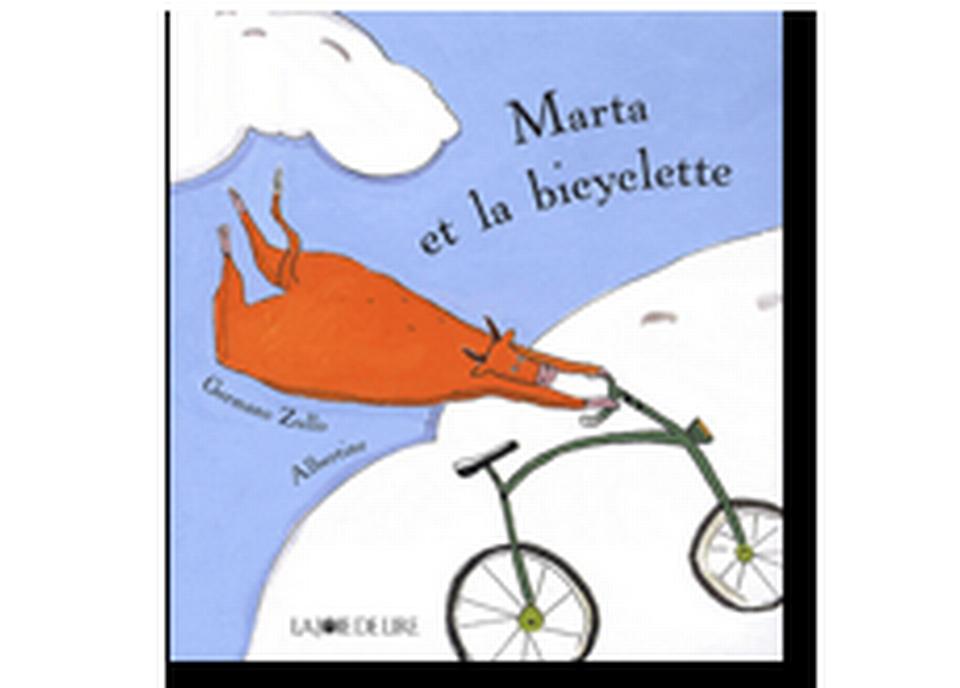 """Marta et la bicyclette"" d'Albertine et Germano Zullo. [RTS]"