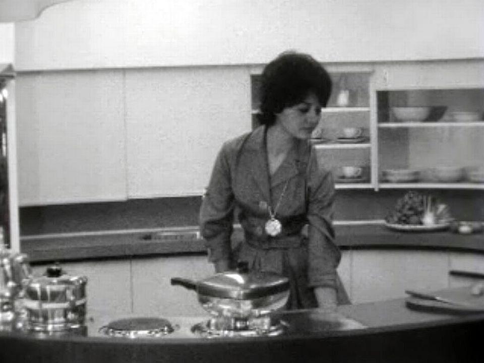 Pas de doute, la cuisine, c'est le domaine de la femme.