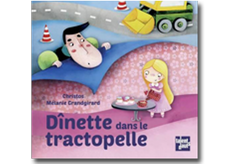"""""""Dînette dans le tractopelle"""" de Christos & Mélanie Grandgirard. [RTS]"""