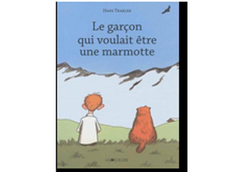 """""""Le garçon qui voulait être une marmotte"""" de Hans Traxler. [RTS]"""