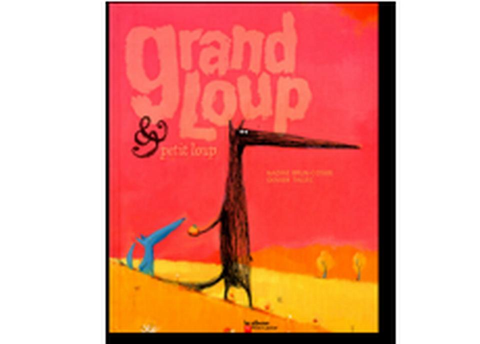 """""""Grand loup et petit loup"""" de Nadine Brun-Cosme et Olivier Tallec. [RTS]"""