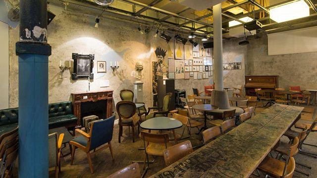 L'une des salles du lieu de culture centenaire. [zuerich.com]