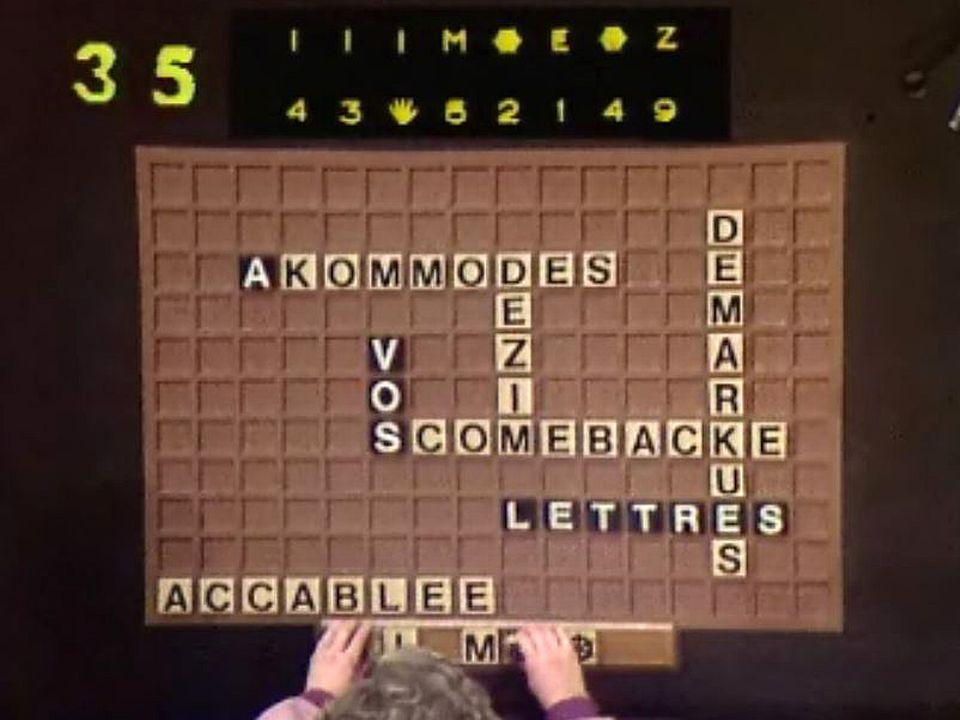 Un jeu de lettres qui repose sur le principe du scrabble.