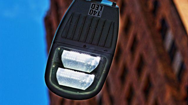 Eclairage public LED. [ Benjamin Beytekin - dpa Picture-Alliance/AFP]