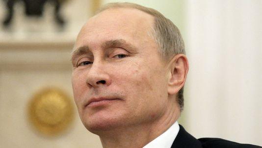 """Selon le rapport du Pentagone, Vladimir Poutine affiche """"une forte dépendance au combat, aux réactions froides"""" au lieu d'un comportement social plus nuancé. [AFP]"""