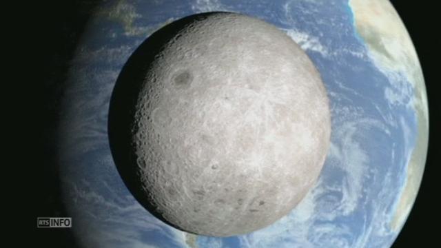 La Nasa révèle la face cachee de la Lune [RTS]