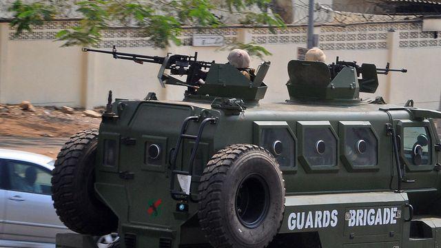 Forces nigérianes Boko Haram [AP Photo/Olamikan Gbemiga - Keystone]