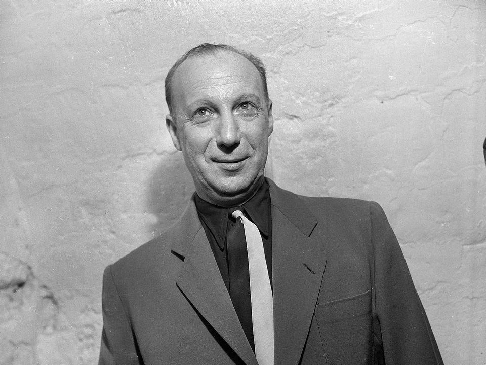 Pierre Dac en 1948. [Roger-Viollet/AFP]