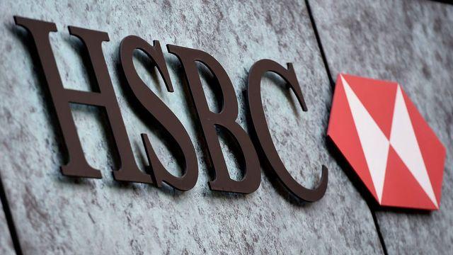 HSBC est au coeur d'un scandale financier. [Facundo Arrizalaga - Keystone]