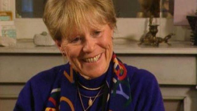 Marlyse Pietri, éditrice, en 1999 [RTS]