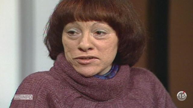 Anne Cunéo est décédée à l'âge de 78 ans [RTS]