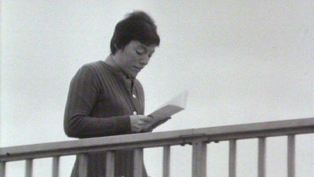L'auteure Anne Cuneo en 1970. [RTS]