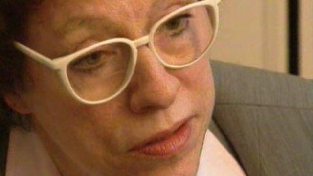 Anne Cuneo en 1996 [RTS]