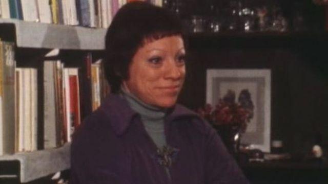 Anne Cuneo en 1976 [RTS]