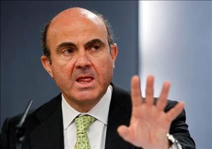 Le ministre espagnol de l'Economie, Luis de Guindos. [Reuters]